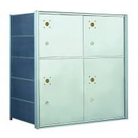 10 PLA-size Door Horizontal Mailbox Unit - Front Loading - 140054PLA