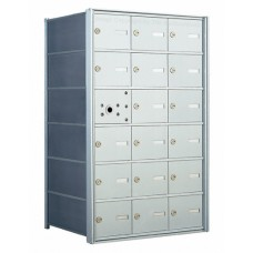 18 A-size Door Horizontal Mailbox Unit - Front Loading - 140063A