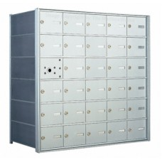 30 A-size Door Horizontal Mailbox Unit - Front Loading - 140065A