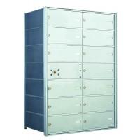 13 DA-size Door Horizontal Mailbox Unit - Front Loading - 140074DA
