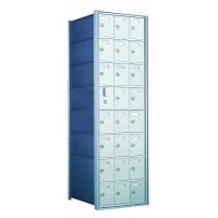 Custom 24 Door Horizontal Mailbox Unit - Front Loading - (23 Useable; 8 High) - 160083-SP