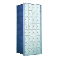 Custom 32 Door Horizontal Mailbox Unit - Front Loading - (31 Useable; 8 High) 160084-SP
