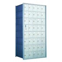 Custom 40 Door Horizontal Mailbox Unit - Front Loading - (39 Useable; 8 High) 160085-SP