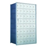 Custom 48 Door Horizontal Mailbox Unit - Front Loading - (47 Useable; 8 High) 160086-SP