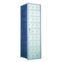 Custom 27 Door Horizontal Mailbox Unit - Front Loading - (26 Useable; 8 High) - 160093-SP