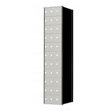 Custom 33 Door 11 High Horizontal Mailbox Unit - Rear Loading - 1700113SP