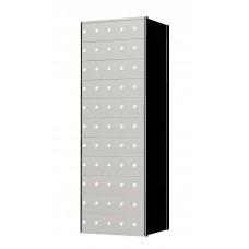 Custom 55 Door 11 High Horizontal Mailbox Unit - Rear Loading - 1700115SP