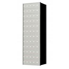 Standard 60 Door 12 High Horizontal Mailbox Unit - Rear Loading - 1700125A