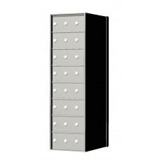 Custom 24 Door 8 High Horizontal Mailbox Unit - Rear Loading - 170083SP