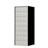 Custom 32 Door 8 High Horizontal Mailbox Unit - Rear Loading - 170084SP