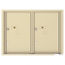 2 Parcel Doors Unit - 4C Wall Mount 6-High - 4C06D-2P