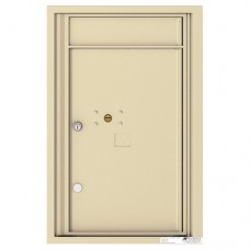 1 Parcel Door Unit - 4C Wall Mount 7-High - 4C07S-1P