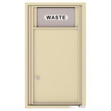 Trash/Recycling Bin - 4C Wall Mount 8-High - H4C08S-BIN