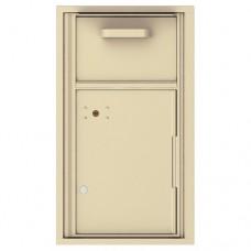 Collection/Drop Box Unit - 4C Wall Mount 8-High - 4C08S-HOP