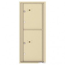 2 Parcel Doors Unit - 4C Wall Mount 11-High - 4C11S-2P
