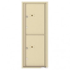 2 Parcel Doors Unit - 4C Wall Mount 12-High - 4C12S-2P