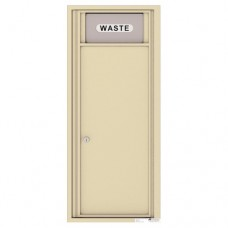 Trash/Recycling Bin - 4C Wall Mount 12-High - 4C12S-BIN