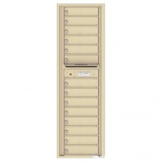 14 Tenant Doors with Outgoing Mail Compartment - 4C Wall Mount Max Height Mailboxes - 4C16S-14