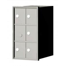 """Custom Front Load Mini Storage Locker - 7.5"""" Deep.  3 Doors High x 2 Doors Wide - MINI32F-SP"""