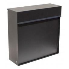 QualArc Covina Black Locking Mailbox - Model WF-P015