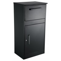 QualArc ParcelDefender Black Locking Parcel and mailbox - Model WF-PB003