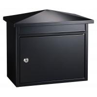 QualArc Summit Black Locking Mailbox - Model WF-PM14