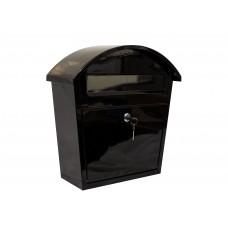 QualArc Ridgeline Black Locking Mailbox - Model WF-PM16-BL