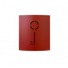 QualArc Wall Mounted Key Keeper in Red - Model WF-W7019RD